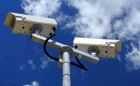 Rapidly deployed video surveillance network infrastructure