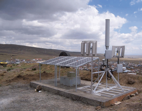 Secure and reliable outdoor wireless network at a Peruvian mine