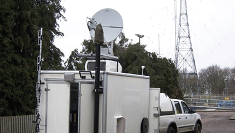 Rapid deploy TETRA backhaul unit