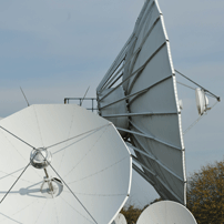 Datasat's privately owned Ntework Operations Centre (NOC) and Teleport earth station