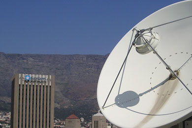 Secure VSAT connections in Africa and around the world to